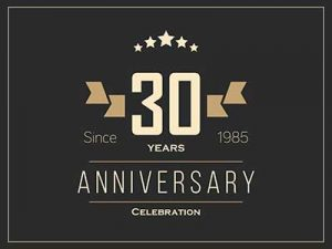 This Month, We're Celebrating 30 Years of Success – Ours and Yours!