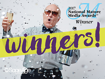 SageAge Strategies and Eleven Client-Partners Honored with 2017 National Mature Media Awards